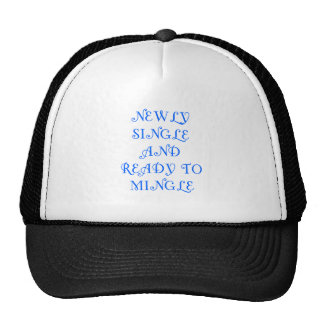 Newly Single and Ready to Mingle - 3 - Blue Hats