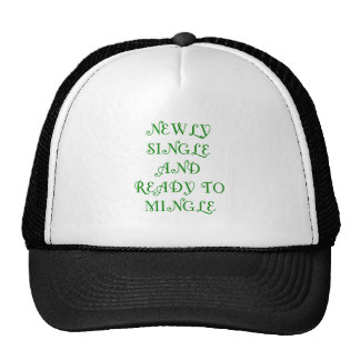 Newly Single and Ready to Mingle - 3 - Green Mesh Hats