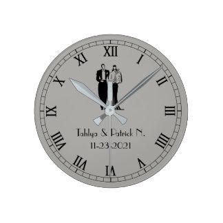 Newly Weds' Wall Clock