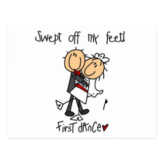 Newlywed First Dance Tshirts and Gifts Postcard