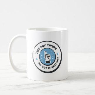 Newlywed Funny New Husband Gift Coffee Mug