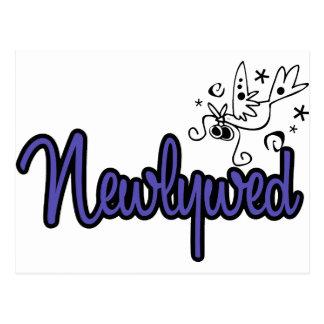 Newlywed-Indigo Blue Postcard