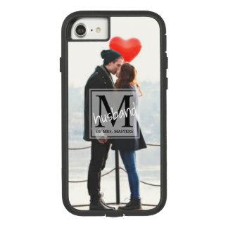 Newlywed Men's Monogram Husband of Full Photo Case-Mate Tough Extreme iPhone 8/7 Case