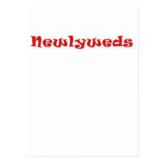 Newlyweds Postcard
