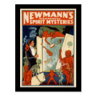 Newmann's wonderful spirit mysteries postcard
