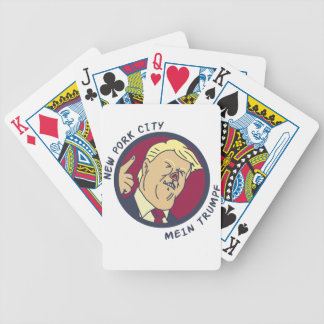 newporkcity bicycle playing cards