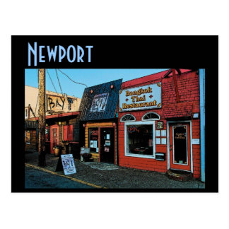 Newport Bayfront Postcard
