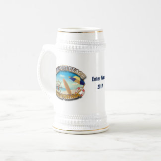 Newport Beach, California Beer Stein