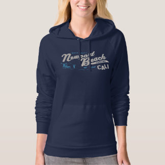 Newport Beach, California Surfing The West Coast Hoodie