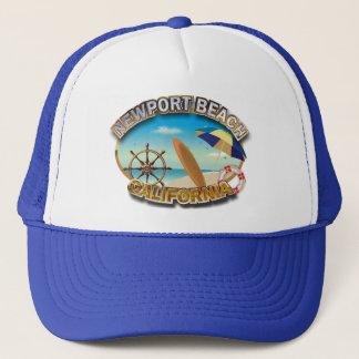 Newport Beach, California Trucker Hat
