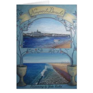 Newport Beach Card