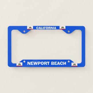 Newport Beach Personal License Plate Frame
