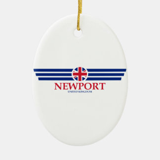 Newport Ceramic Ornament