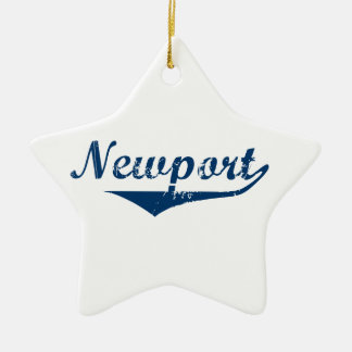 Newport Ceramic Ornament
