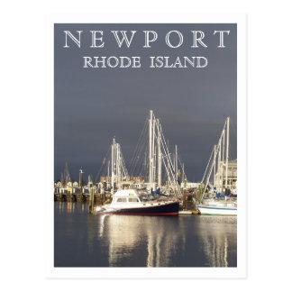 Newport Harbor Postcard
