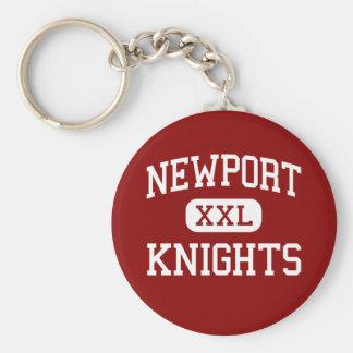 Newport - Knights - High - Bellevue Washington Keychain