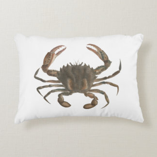 Newport Lady Crab Throw Pillow