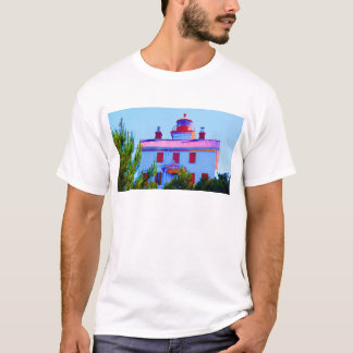 Newport Lighthouse at Yaquina Bay T-Shirt