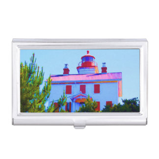 Newport Lighthouse Business Card Cases