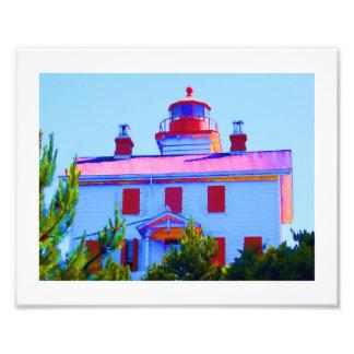 Newport Lighthouse Photo Print