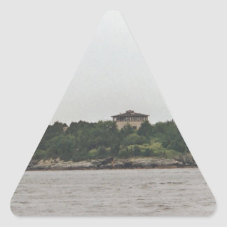 Newport mansion triangle sticker