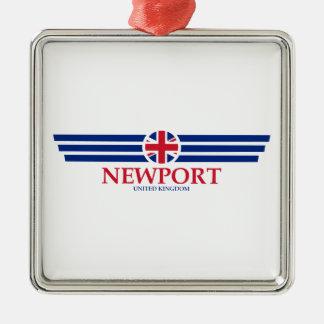 Newport Metal Ornament
