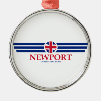 Newport Metal Ornament