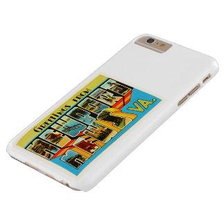Newport News Virginia VA Vintage Travel Postcard- Barely There iPhone 6 Plus Case