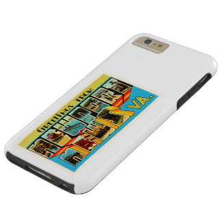 Newport News Virginia VA Vintage Travel Postcard- Tough iPhone 6 Plus Case
