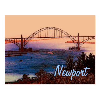 Newport (OR) Postcard