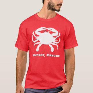 Newport Oregon Crab Shirt