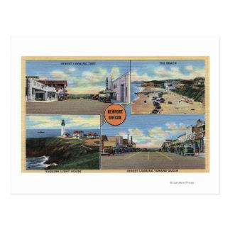 Newport, Oregon - Yaquina Lighthouse, Main Postcard