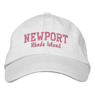 Newport, Rhode Island Embroidered Hats