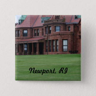 Newport, RI 2 Inch Square Button