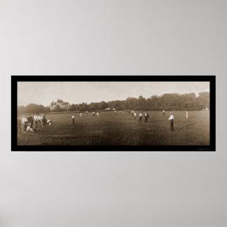 Newport RI Cricket Photo 1902 Poster