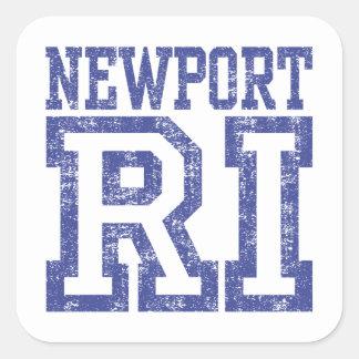 Newport RI Square Sticker