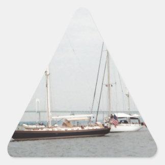 Newport, RI Triangle Sticker