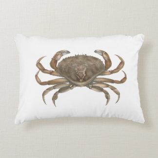 Newport Rock Crab Decorative Pillow