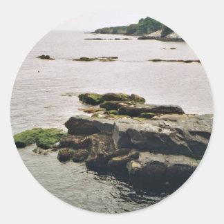 Newport Round Sticker