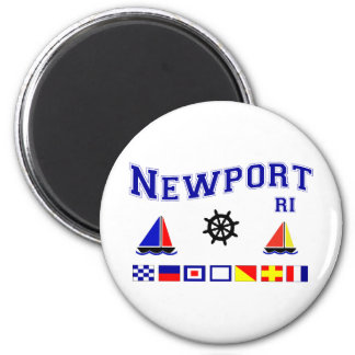 Newport Signal Flags Magnet