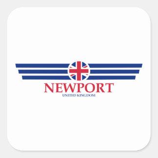 Newport Square Sticker