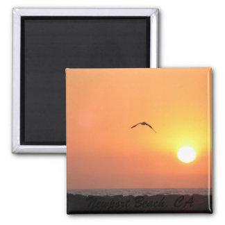 Newport Sunset Magnet