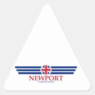 Newport Triangle Sticker