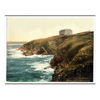 Newquay, Beacon Cove, Cornwall, England classic Ph Postcard