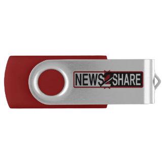 News2Share USB Swivel USB 3.0 Flash Drive