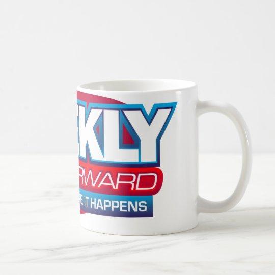 News Makeup, Weekly Fast Forward Logo Coffee Mug