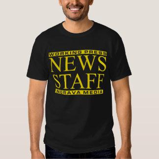 News Staff T Shirts