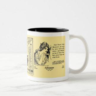 Newspaper #2 Two-Tone coffee mug
