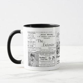Newspaper #4 mug