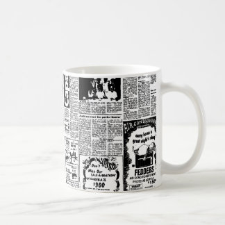 Newspaper Coffee Mug